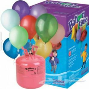 Egy használati hélium 430 l (50 lufira elegendő)