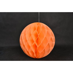 Méhsejt Gömb Honeycomb 30cm narancs