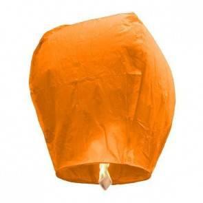 Narancssárga repülő lampion ECO jókívánság lámpás, Kívánság lampion