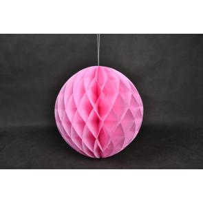 Méhsejt Gömb Honeycomb 30cm rózsaszín