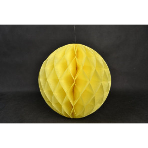 Méhsejt Gömb Honeycomb 30cm sárga