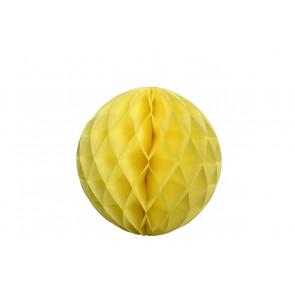 Méhsejt Gömb Honeycomb 20cm - sárga